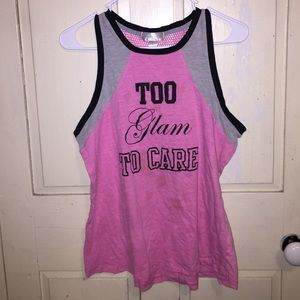 Just be... pink tank top size large